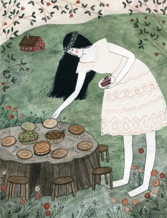 Snow White - Fairytale Food <br> Random House (UK)