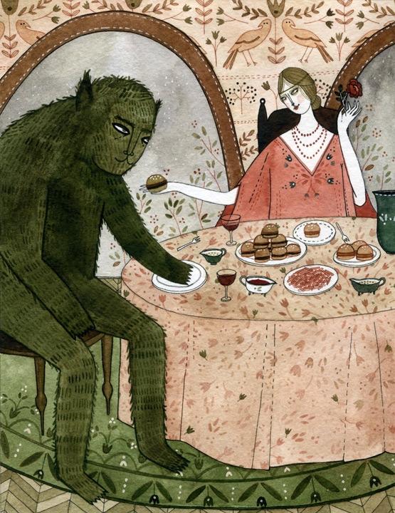 Beauty and The Beast - Fairytale Food <br> Random House (UK)