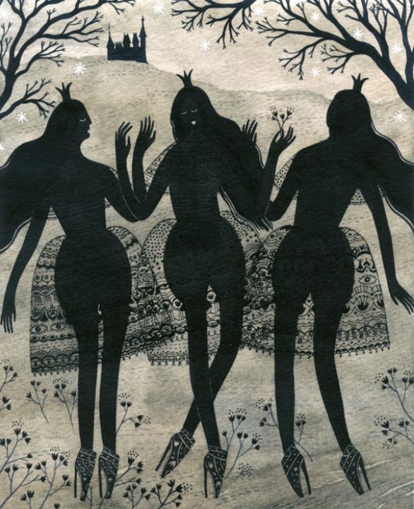 "The Black Princesses <br> ""The Enchanted Forest: Celebrating 200 years of Grimms' Fairytales"""