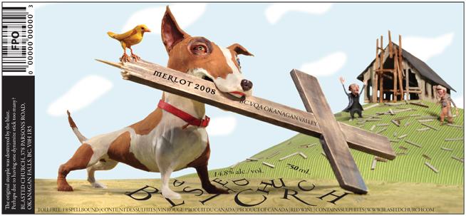 Merlot Dog <br> Blasted Church Vineyards