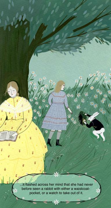 Alice and the White Rabbit <br> Frances Lincoln Children's Books