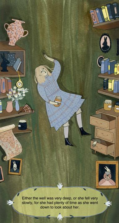 Falling Alice <br> Frances Lincoln's Children's Books