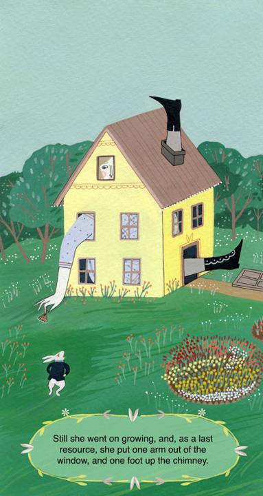 Giant Alice <br> Frances Lincoln Children's Books