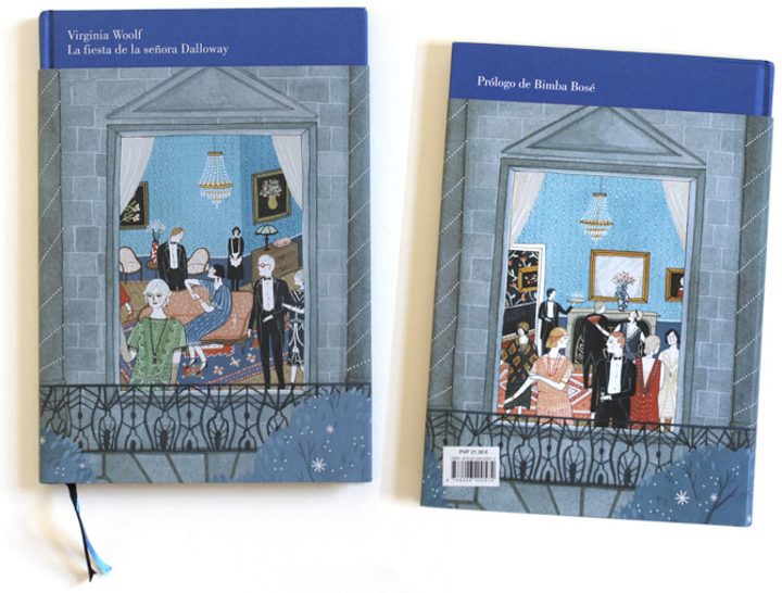 Mrs. Dalloway's Party (samples) <br> Random House Mondadori (Spain)
