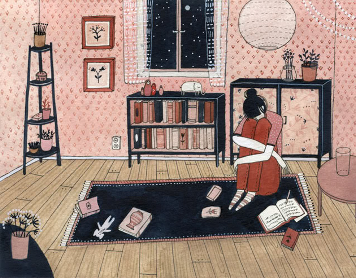 Reading Poetry for Your Children (Sad Girl) <br> Guomai (China)