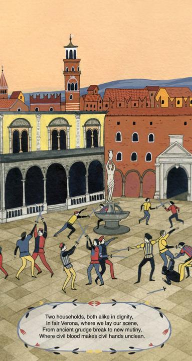 Montague vs. Capulet <br> Frances Lincoln Children's Books