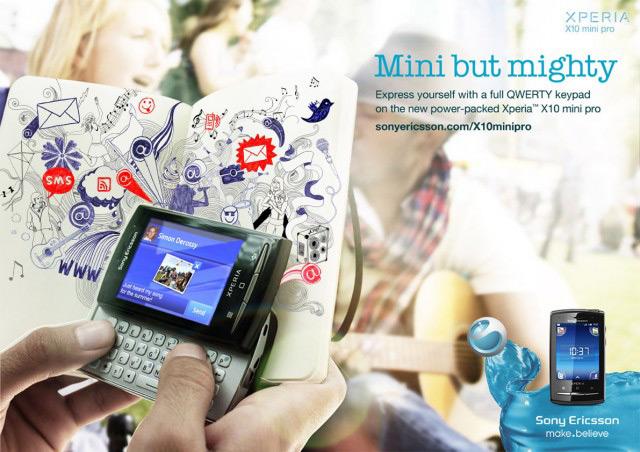 Mini but Mighty <br> Sony Ericsson (UK)