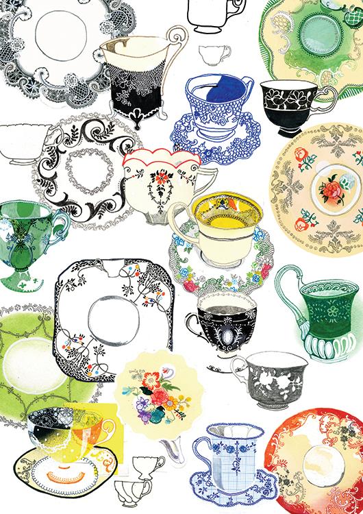 Tea Set <br> Habitat