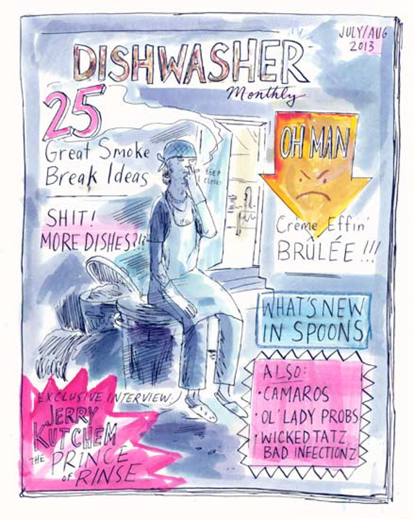 Dishwasher Monthly