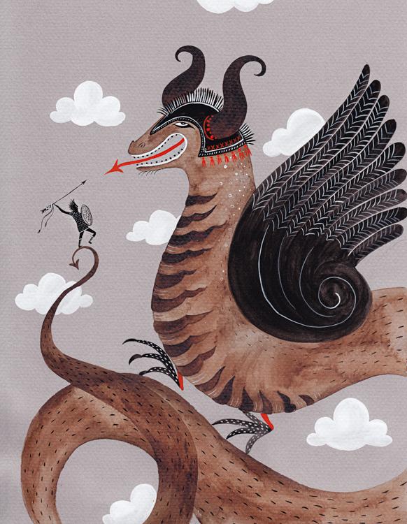 Viking Dragon <br> Personal Work