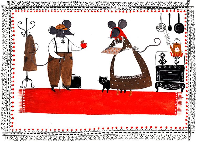 Domestic Mice <br> Personal Work