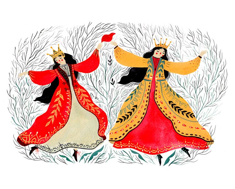 Dancing Princesses <br> Personal Work