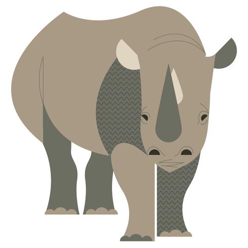 Rhino <br> Denver Zoo