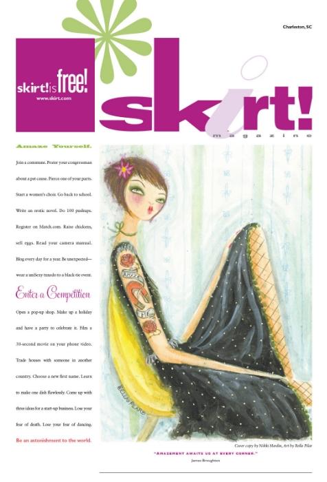 Cover <br> Skirt Magazine