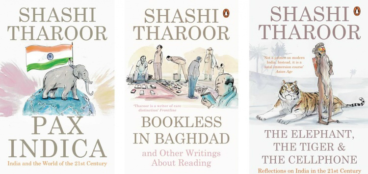 Shashi Tharoor Covers <br> Penguin India