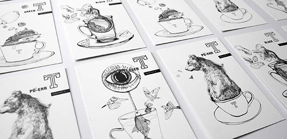 Packaging Cards <br> Teastreet