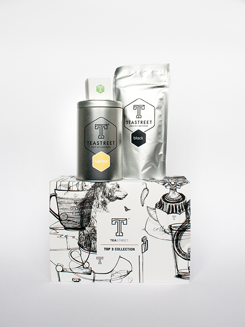 Tea and Box Packaging <br> Teastreet