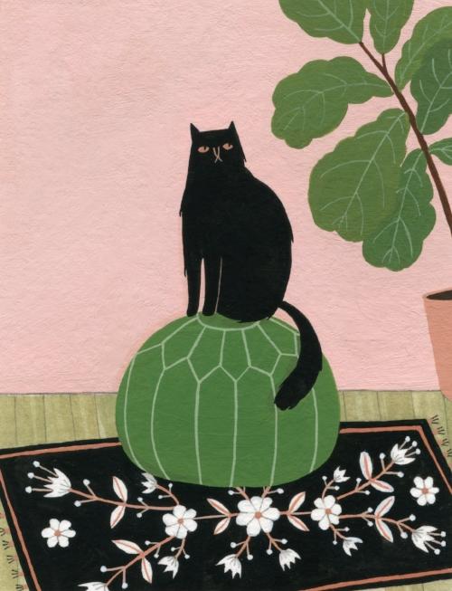 Moroccan Pouf <br> Tiny Art Show