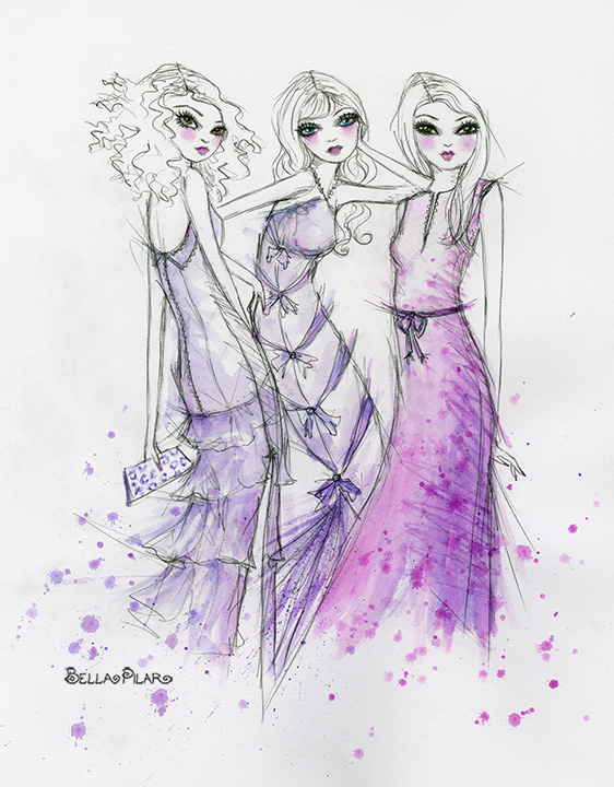 Girls in Gowns