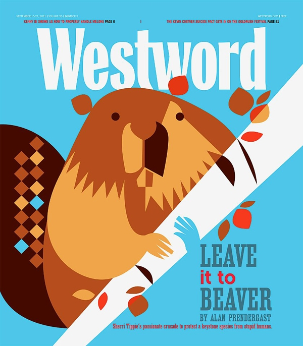 Leave it to Beaver - Cover <br> Westword