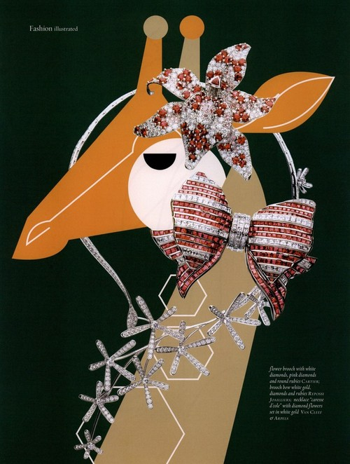 Giraffe - Jewelry Feature <br> Muse Magazine