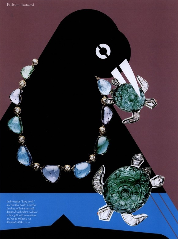 Bird - Jewelry Feature <br> Muse Magazine