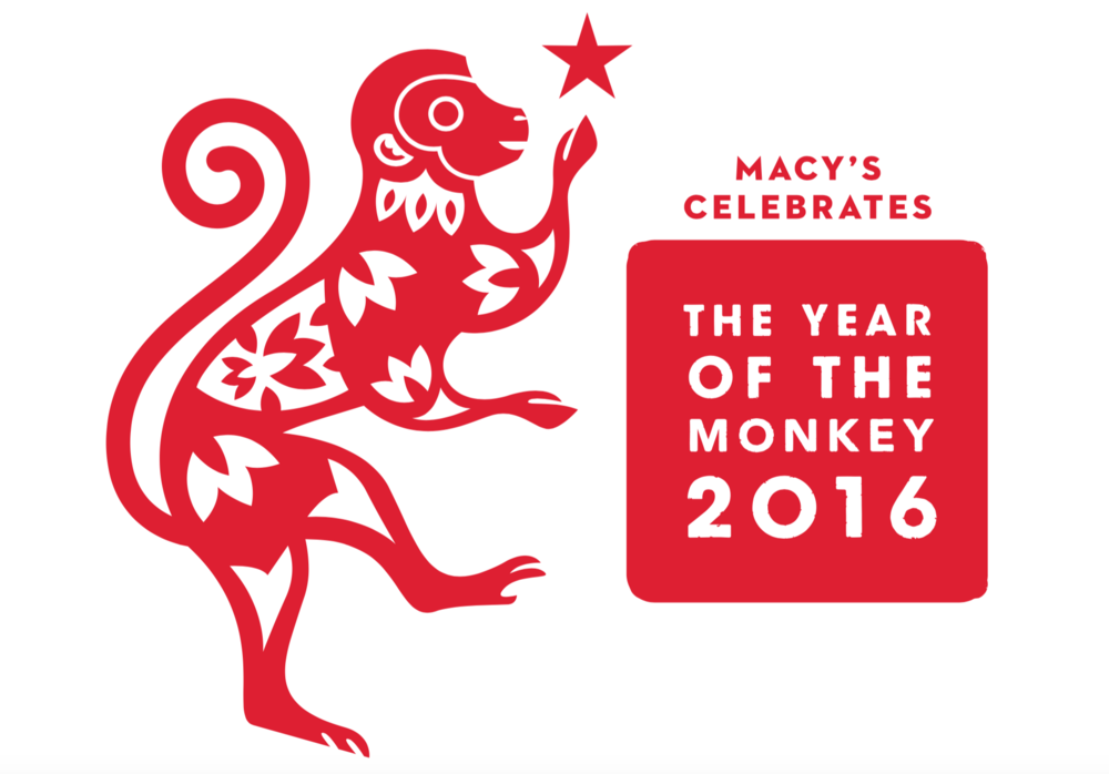 Year of the Monkey <br> Macy's