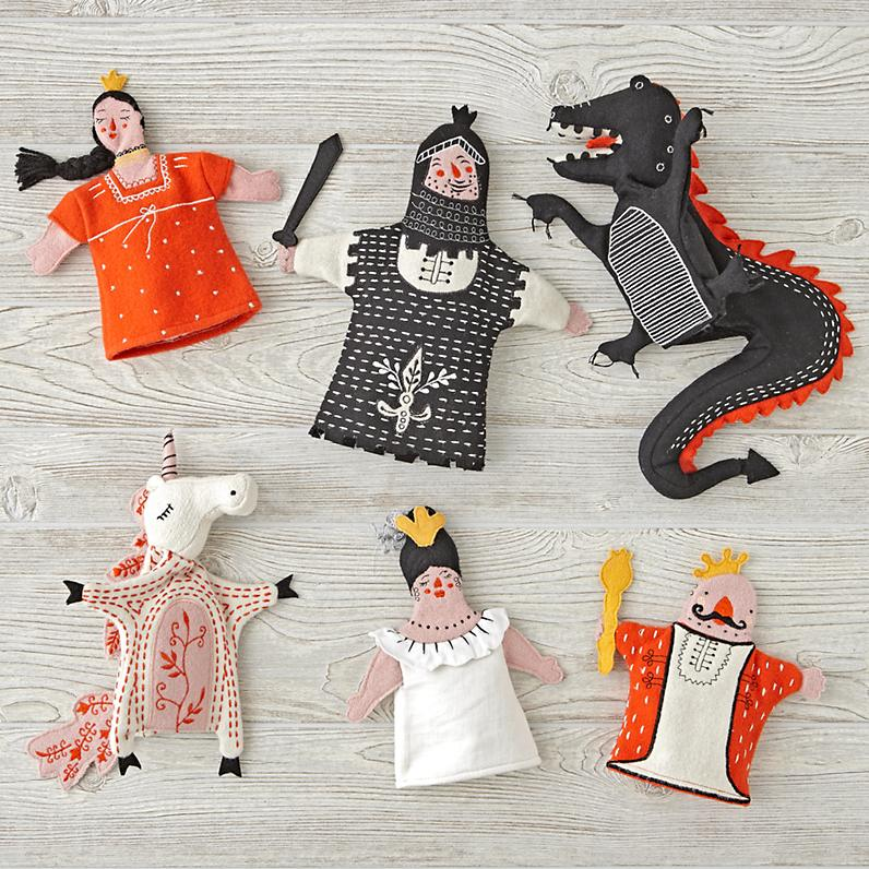 Medieval Hand Puppets <br> The Land of Nod