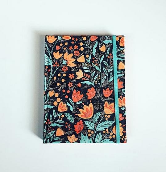 Cloth Notebook <br> Quadrille