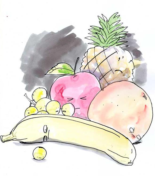 Depressed Fruit