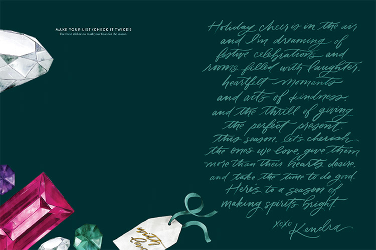 Holiday Catalog <br> Kendra Scott