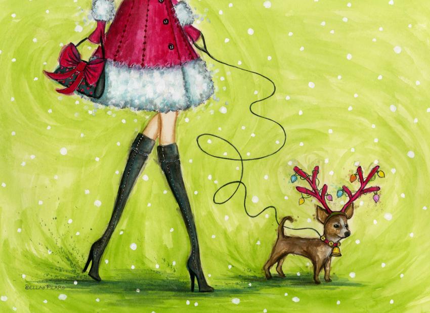 Papyrus - Doggie Reindeer <br> Bella Pilar