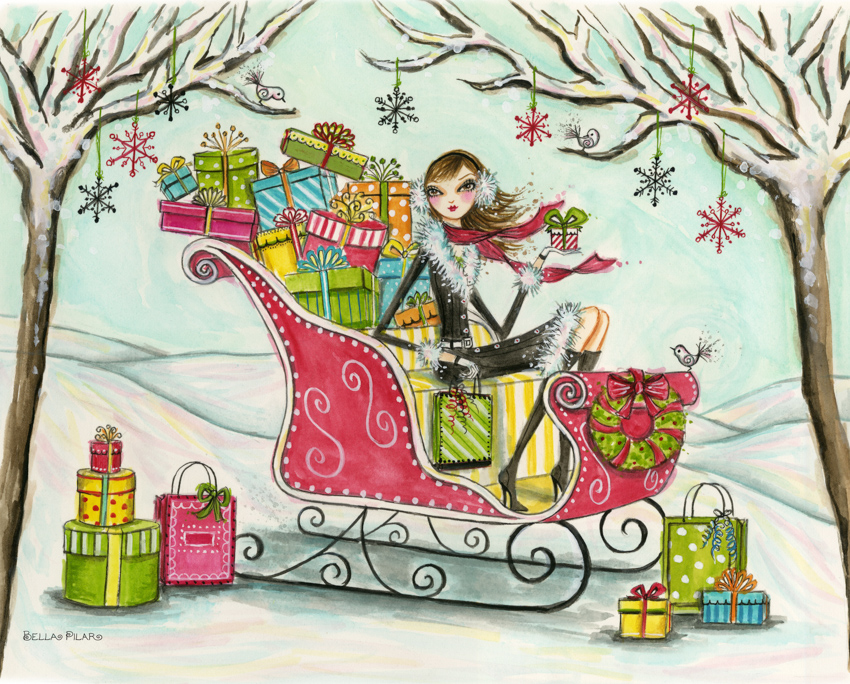 Papyrus - Holiday Sleigh <br> Bella Pilar