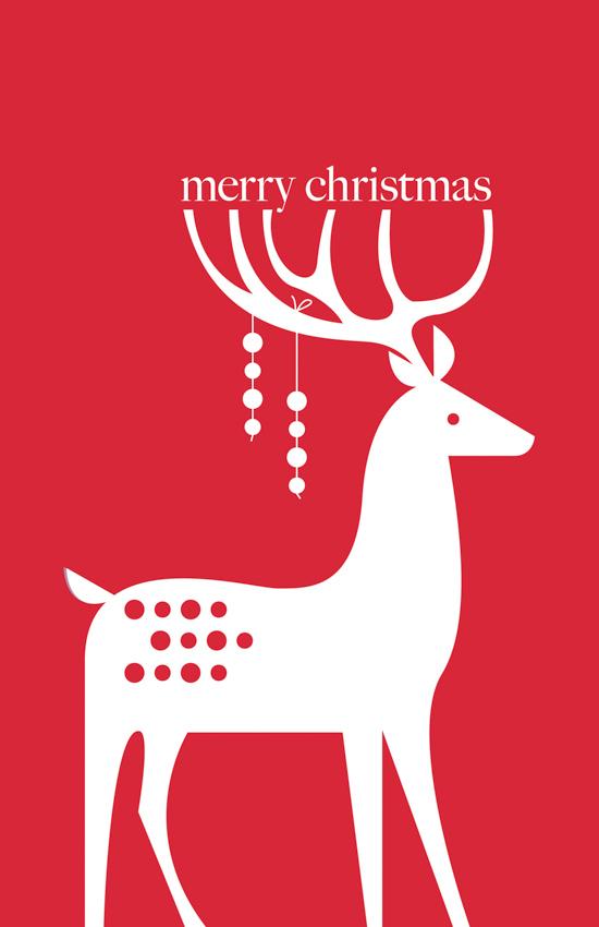 Holiday Deer <br> Eleanor Grosch
