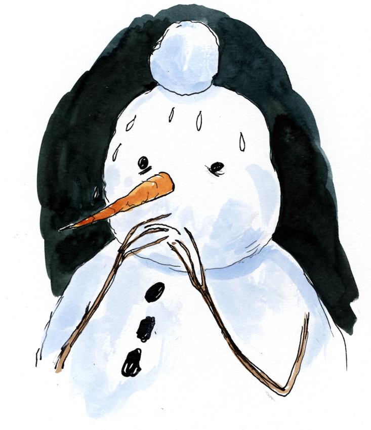 Paranoid Snowman <br> Graham Roumieu