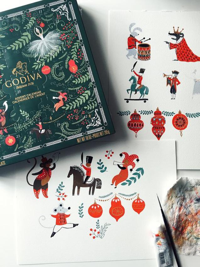 Godiva - Packaging <br> Dinara Mirtalipova