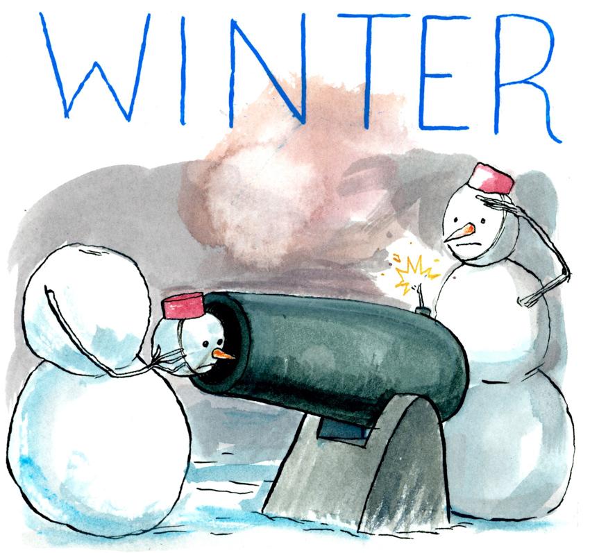 Winter News <br> Graham Roumieu