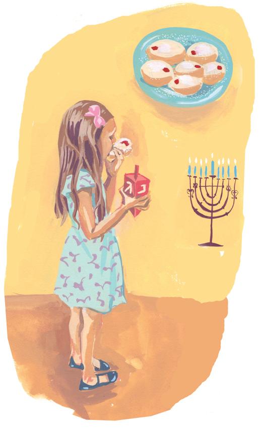 Chanukah Festivities <br> Jenny Kroik
