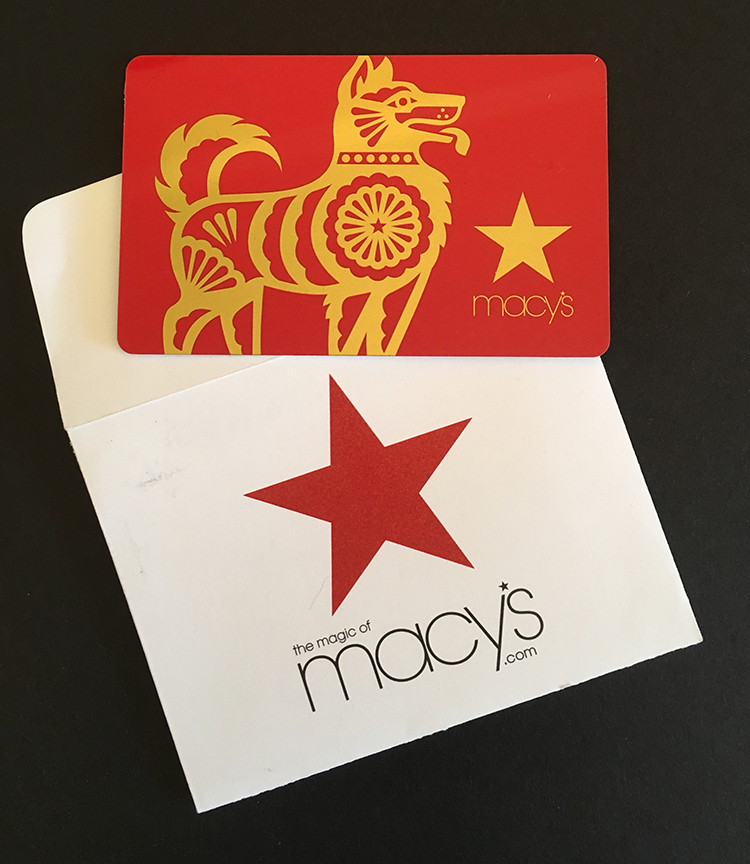 Year of the Dog 2018 <br> Macy's