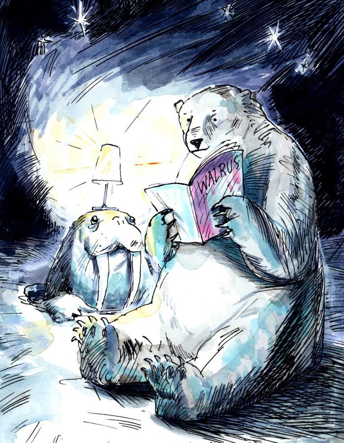 Reading Buddies <br> The Walrus