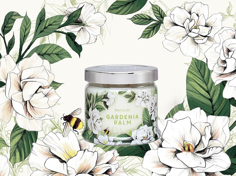 Gardenia <br> Partylite