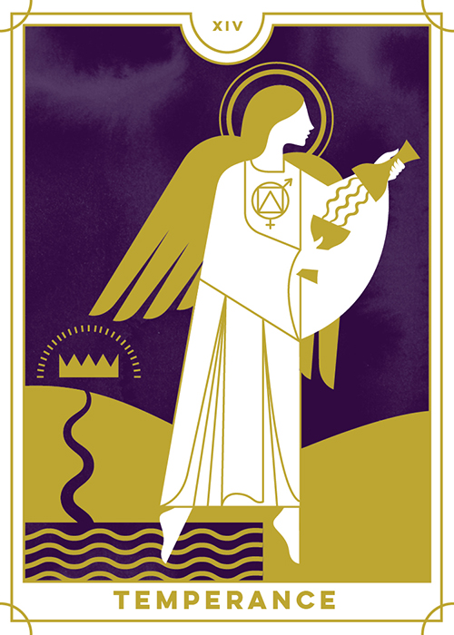 Temperance - Everyday Tarot <br> Running Press