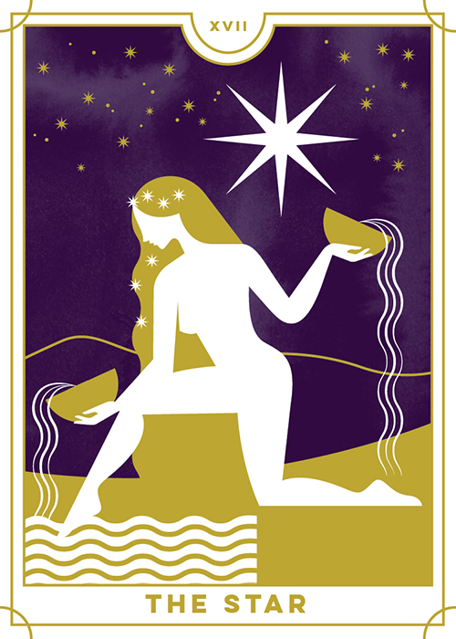 The Star - Everyday Tarot <br> Running Press