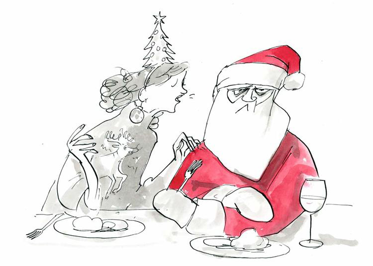 The New York Times - Annoying Holiday Guests<br>Graham Roumieu