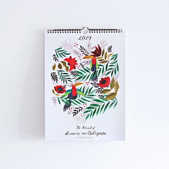 2019 Calendar <br> High Note
