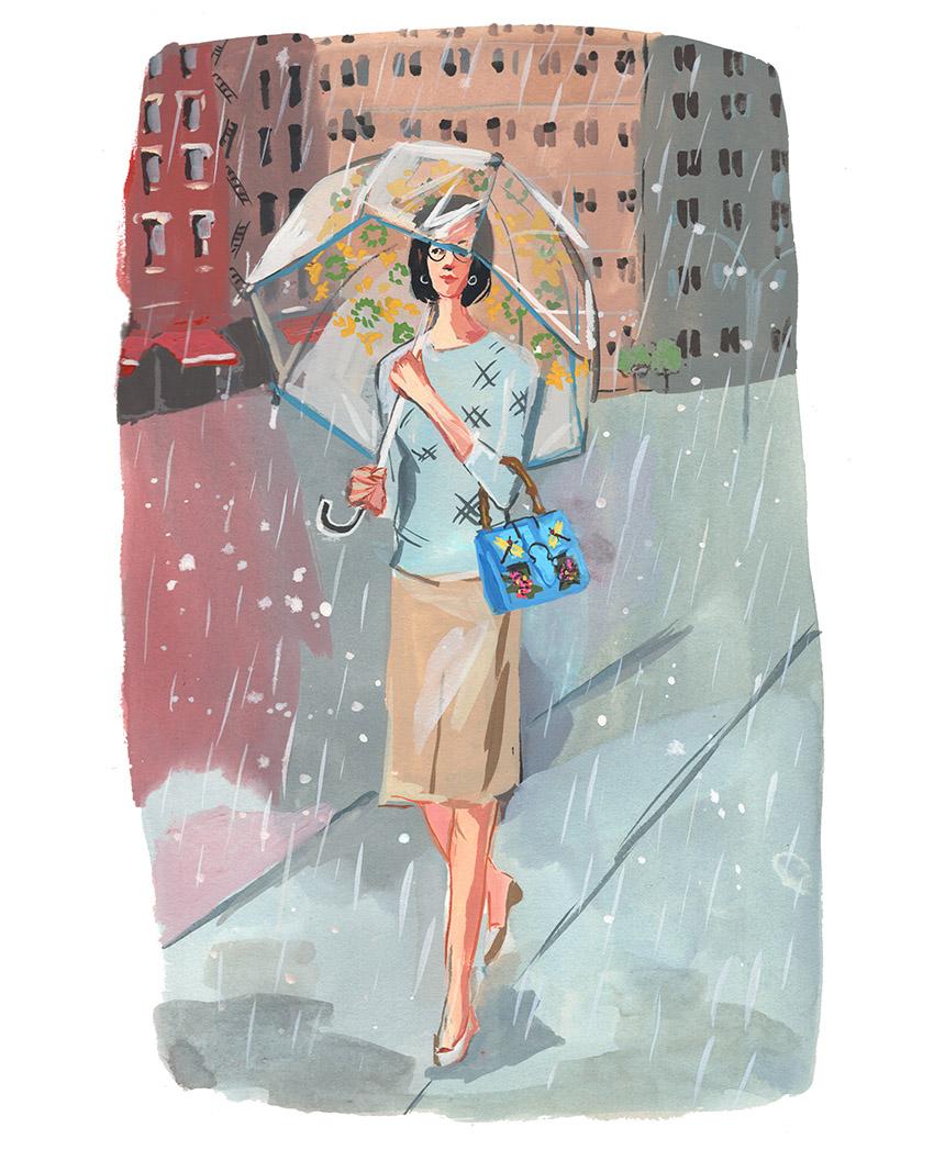 rain lady UES