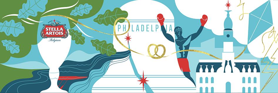 Philly Mural                                                                                Stella Artois