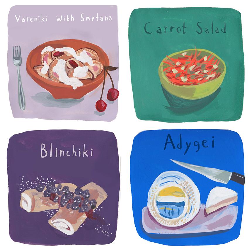 Russian Dishes 3 – Jenny Kroik