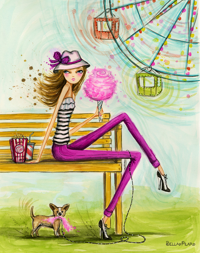 Cotton Candy - Bella Pilar