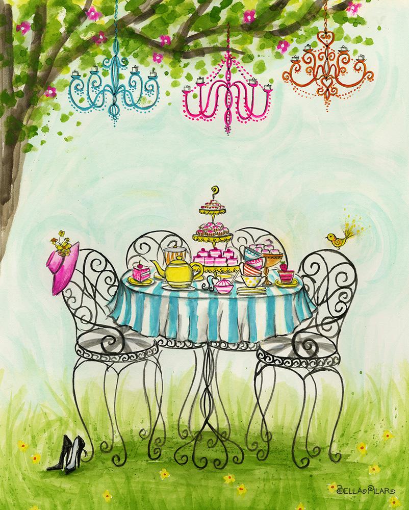 Garden Tea Party - Bella Pilar